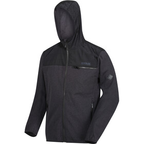 Regatta Upham Hybrid Softshell Jacket Men, black/black